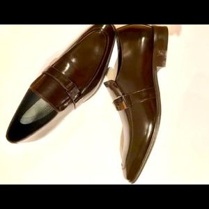 Men's Versace Leather Shoes - NEW NEVER WORN